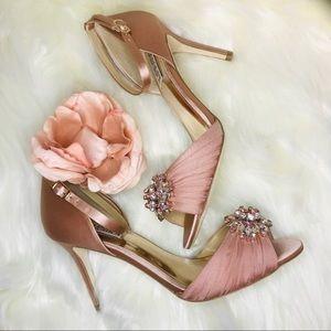 Badgley Mischka Sabrina Stiletto Pump Pink